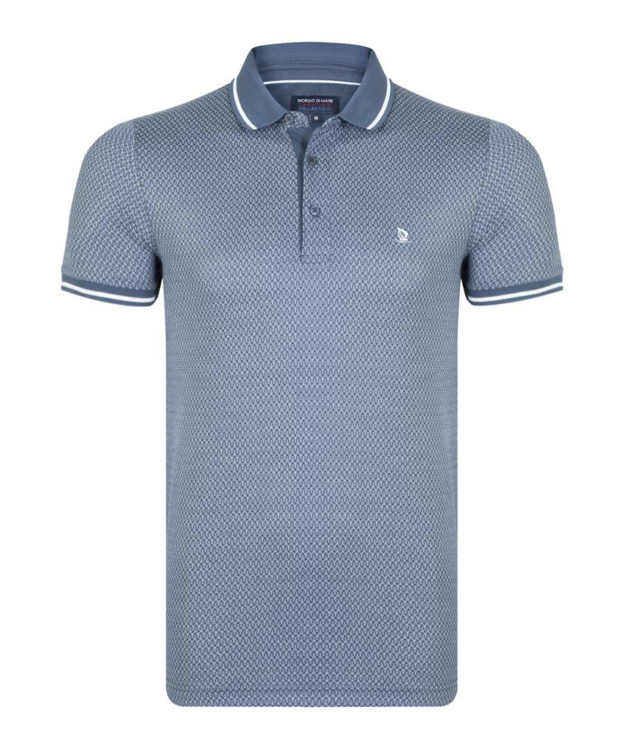 Oil & white pure cotton polo shirt Sale - giorgio di mare