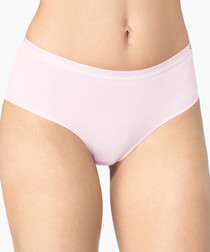 Serenity nude mid-rise briefs