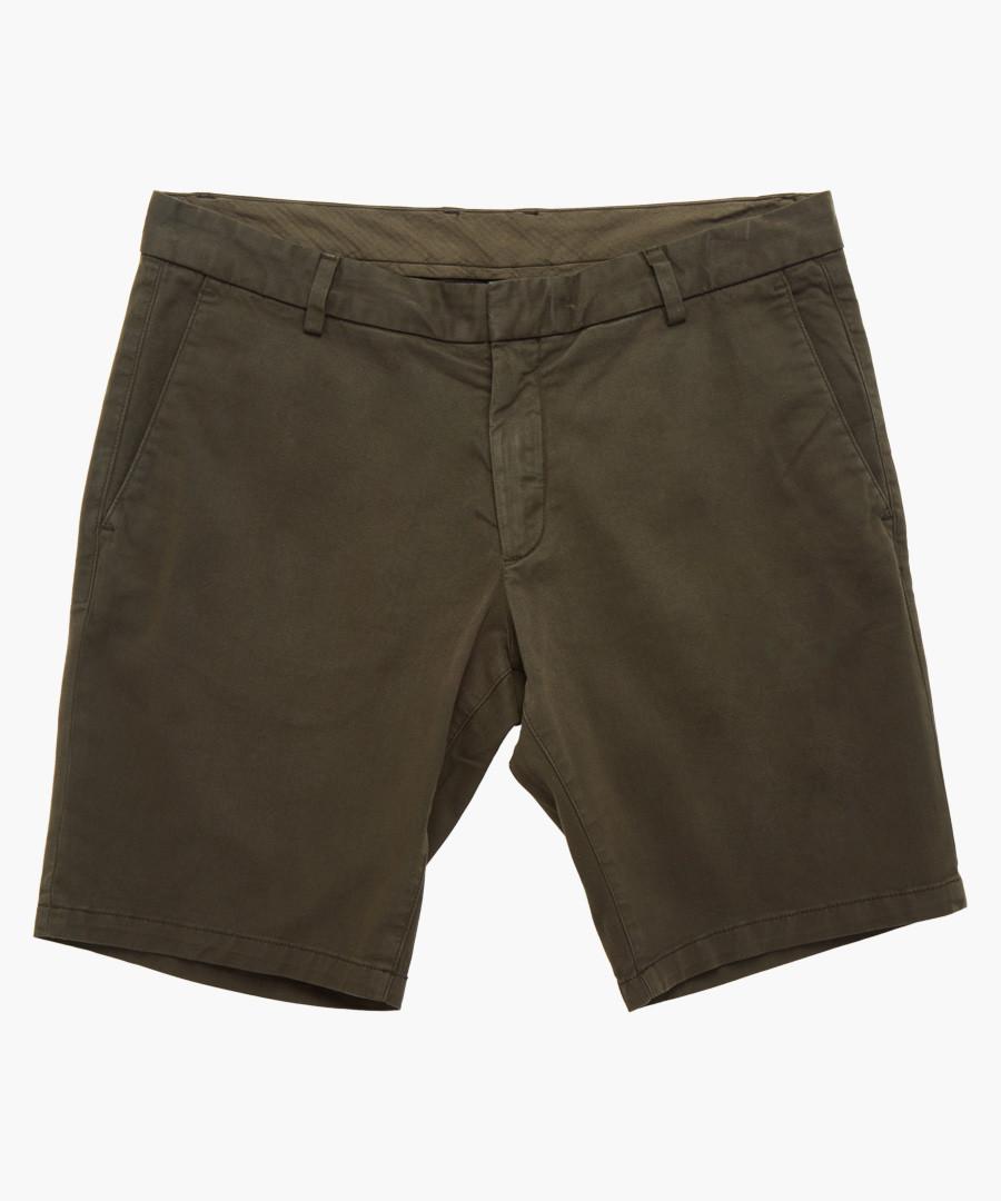 Khaki cotton shorts Sale - tiger of sweden