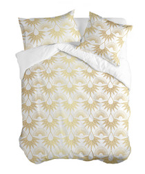 Golden Tears single duvet cover