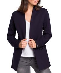 Navy blue tailored jacket