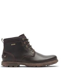 Buc II brown leather chukka boots