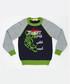 Trust green tiger print jumper Sale - Mushi Sale