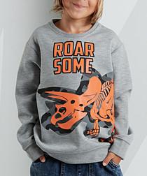 RoarSome grey sweatshirt