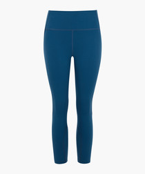 Petrol ultra-form cropped leggings