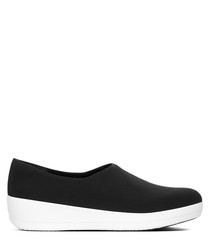 Superstretch bobby black loafers