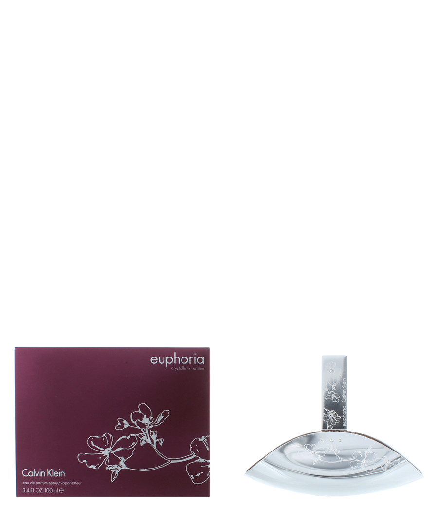 Euphoria Crystalline eau de parfum 100ml Sale - calivin klein