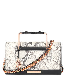 The Ford natural snake-effect crossbody