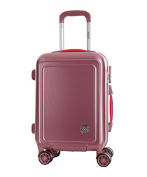 Coconut pink spinner suitcase 75cm