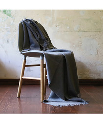 Bella grey throw 200cm