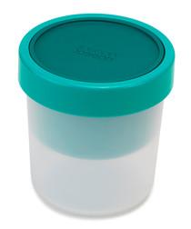 GoEat Space-saving teal soup pot