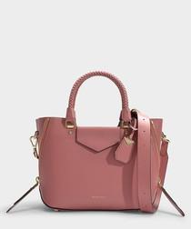 Blakely Medium Messenger Bag in Rose Calfskin