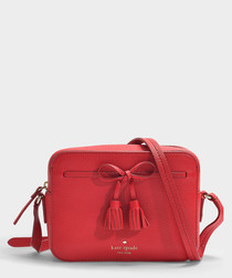 Hayes Street Arla red camera bag
