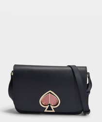 Nicola Twistlock Medium black shoulder bag