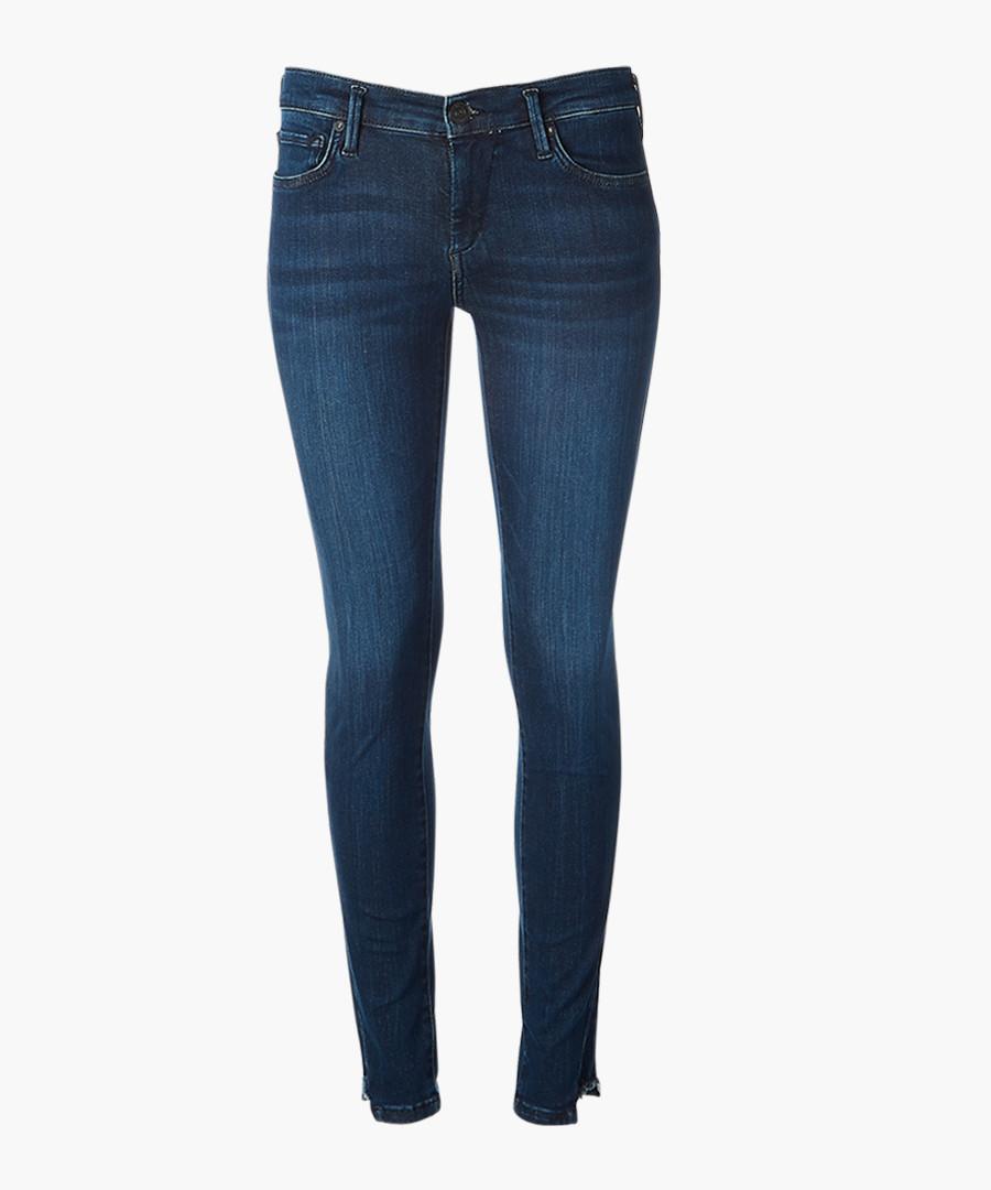Denim blue skinny jeans Sale - true religion