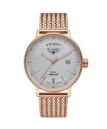 Sithon rose gold-tone steel watch