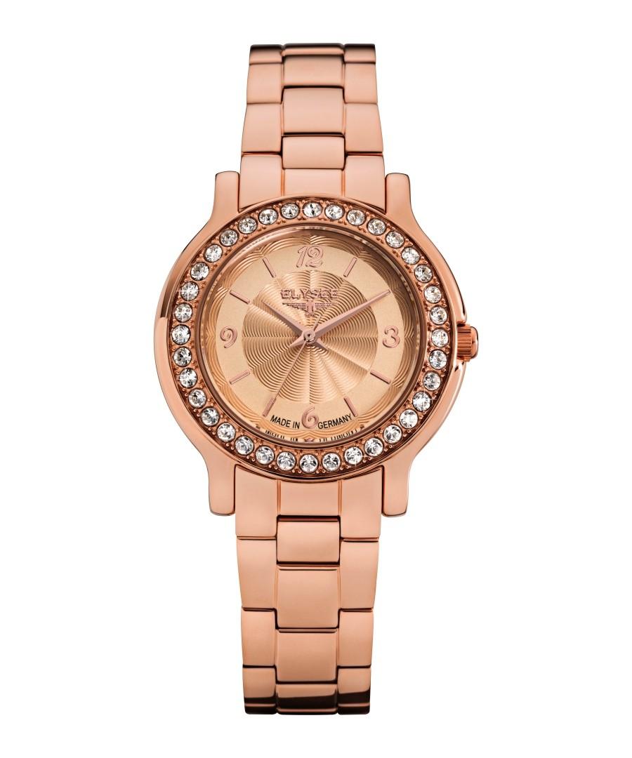Helena rose-tone stainless steel watch Sale - Elysee