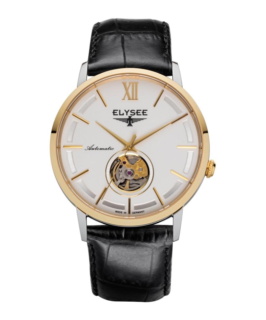Picus black leather strap watch Sale - Elysee