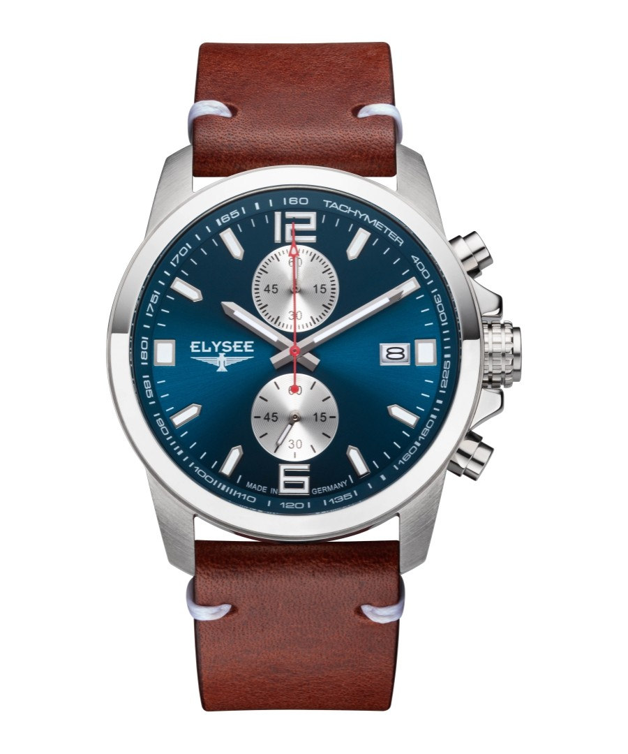 Ziros leather strap watch Sale - Elysee