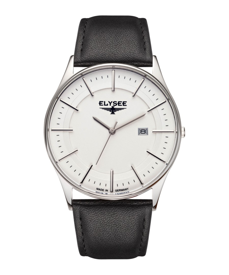 Diomedes II leather strap watch Sale - Elysee