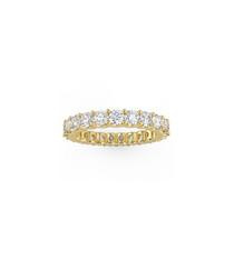 9k gold & diamond full eternity ring
