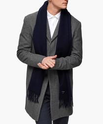 Dark navy scarf