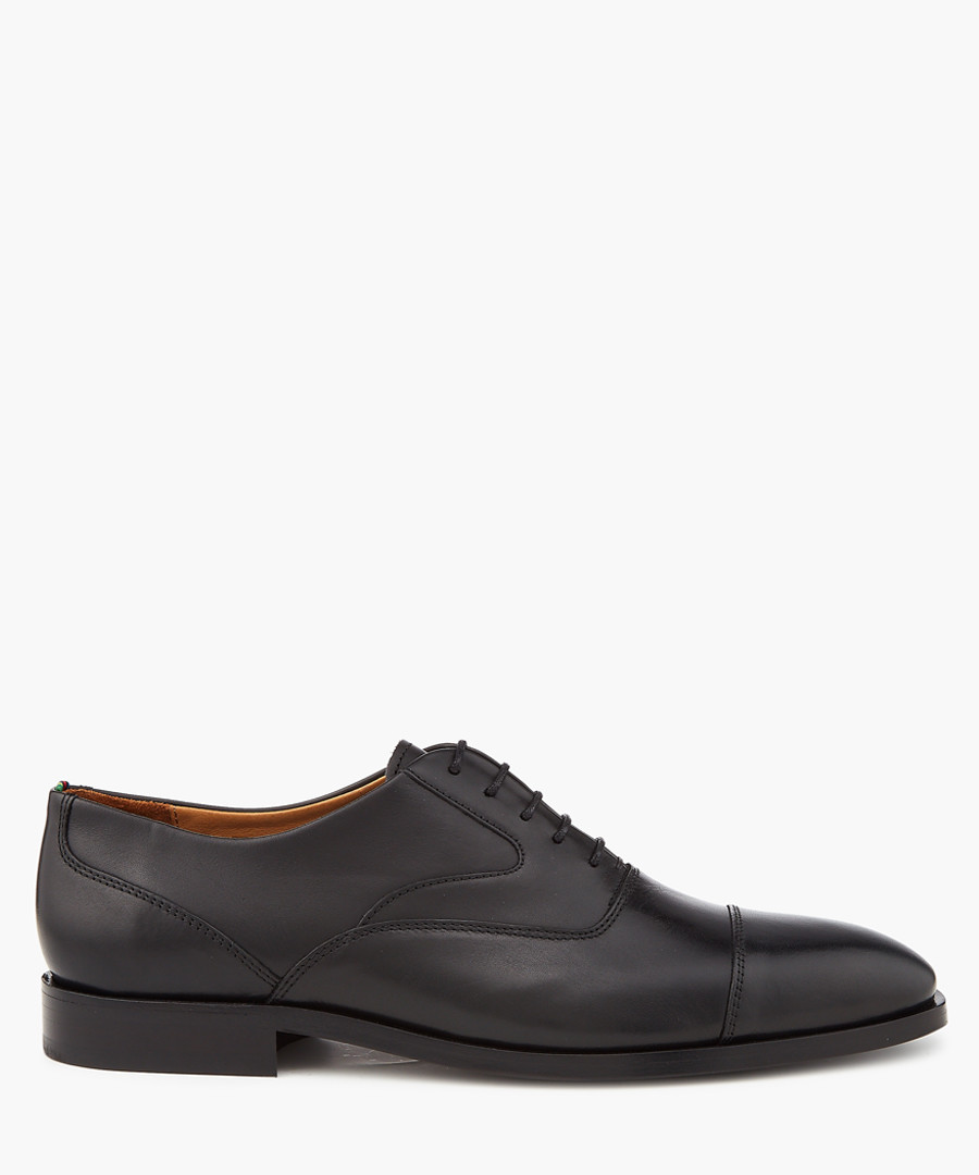 Black leather formal shoes Sale - PS PAUL SMITH