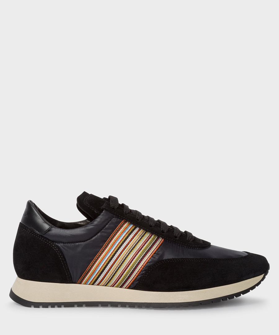 Black contrast panel sneakers Sale - paul smith