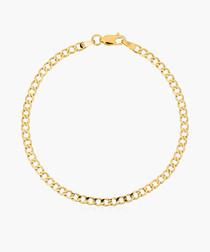 Maille Ovalys 9k yellow gold bracelet