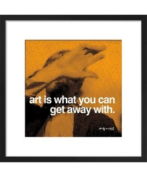 Art Art print by Andy Warhol