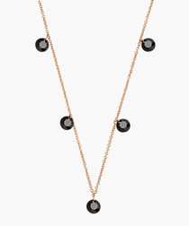 Marigold 18k rose gold-plated necklace