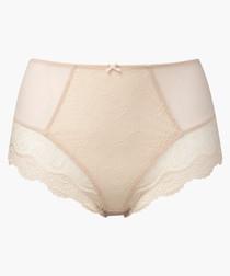 Esla pink high-waist briefs