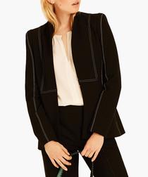 Black sculpted jacket