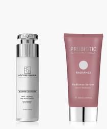 2pc Instant radiance & moisturizer set