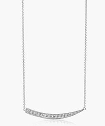 Pila Grande sterling silver necklace