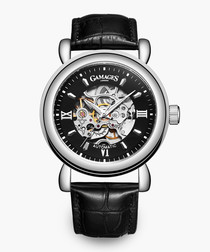 Limited Edition Skeleton black watch