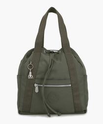 Art green backpack