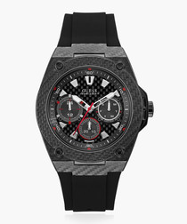 Legacy black carbon fibre watch