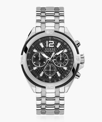 Surge silver-tone steel watch