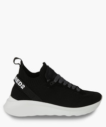 Black & white contrast sneakers