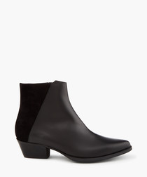 Alice black ankle boots