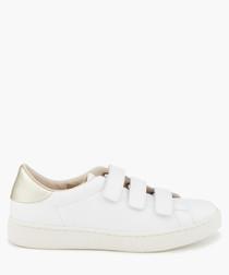 Frida white velcro sneakers
