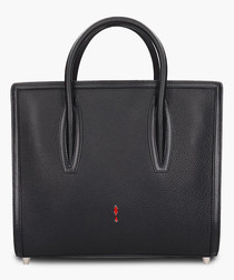 Paloma S black leather shopper